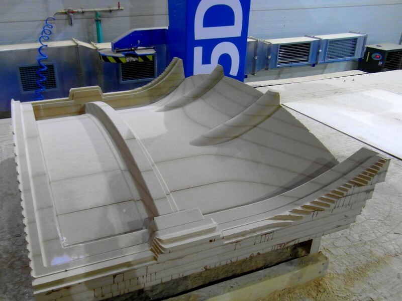 CNC Modell aus MDF