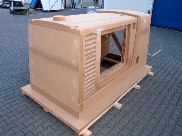 CNC Modell aus MDF für Umbaugehäuse