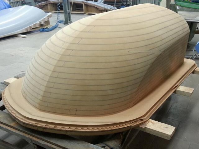 CNC Modell aus MDF für Windgondel