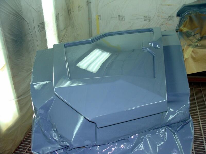 CNC Modell aus MDF, lackiert, Karosserieteil
