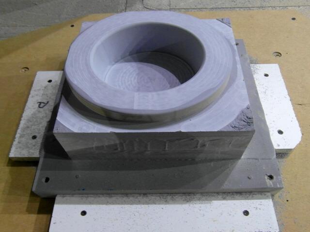 CNC Modell aus UREOL, Hartschaum