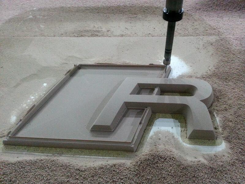 CNC Modelle aus PU Hartschaum