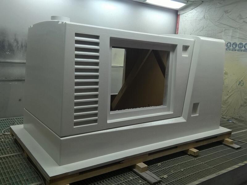 GFK Formenbau, Umbaugehäuse Anhänger