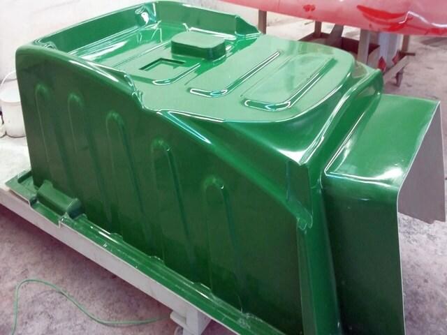 GFK Produktionsform für Motorhauben Innenteil