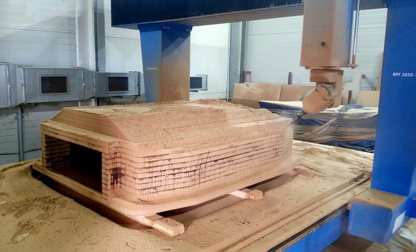 CNC Modelle aus MDF für Motorhaube