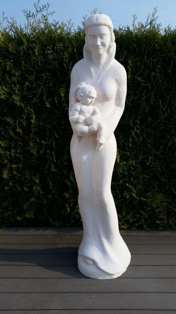 Madonnenfigur, Styroporfiguren, Skulpturen aus Styropor und GFK