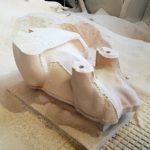 Figuren, Skulpturen aus Blockmaterial CNC gefräst
